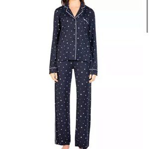 PJ SalvagePiped Star Print Pajama Set